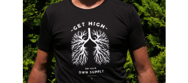 T-shirt: Get High On Your Own Supply