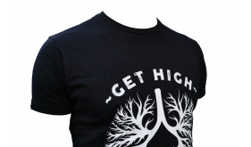 Wim Hof tshirt get high on your own supply