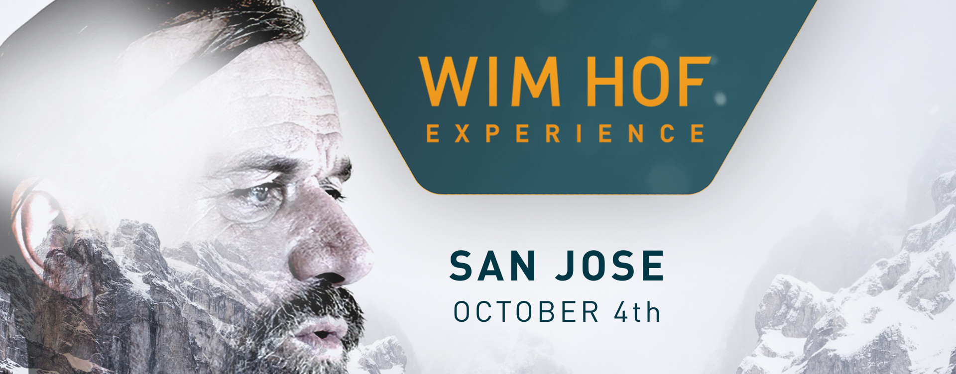 This background image gives you an impression of Wim Hof Experience — San Jose and was originally called WHM SAN JOSE - BANNER.jpg.
