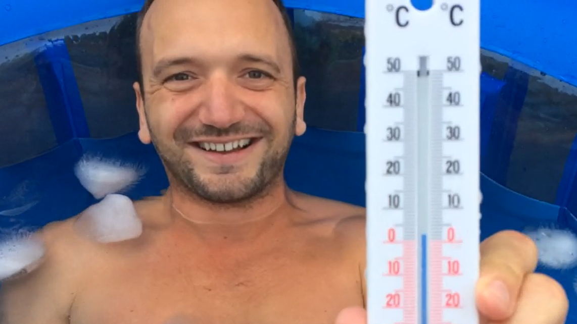 Image 1 of 8 - Experience the Wim Hof Method to get an impression of  at