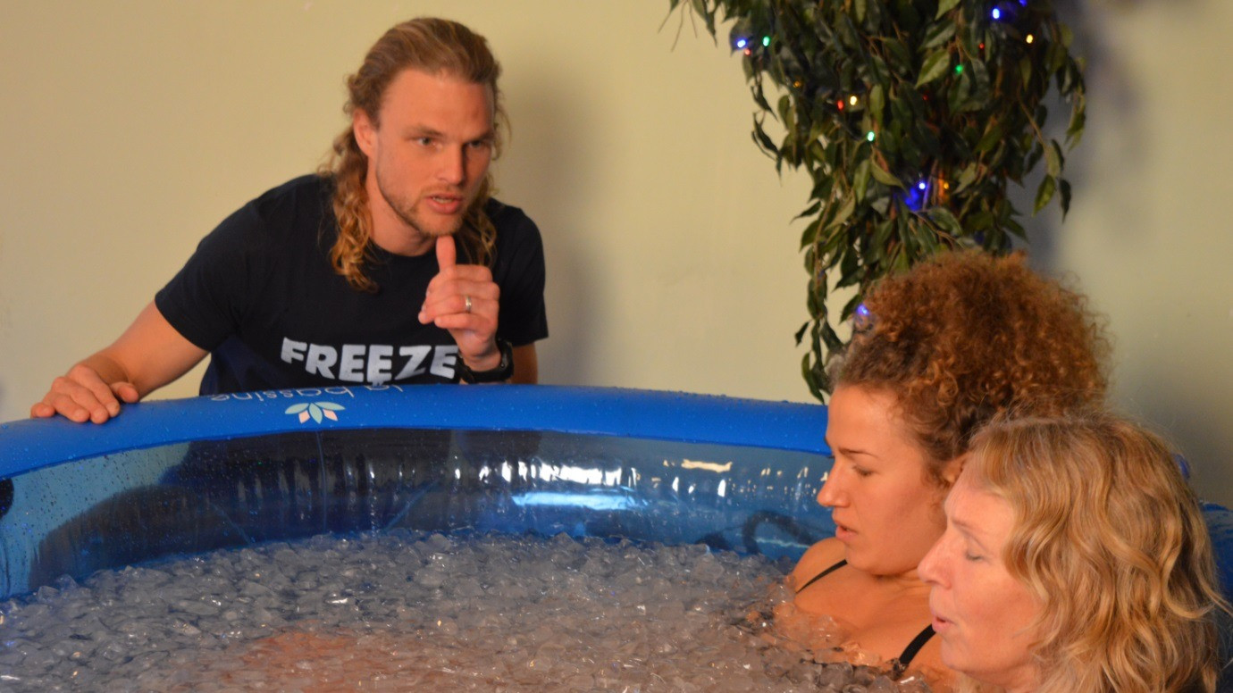 Image 1 of 7 - Experience the Wim Hof Method to get an impression of  at