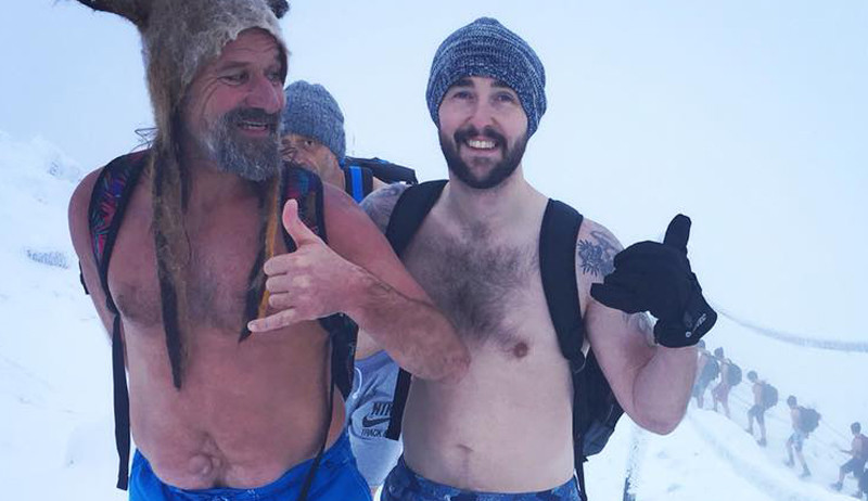 Image 1 of 4 - Experience WHM to get an impression of Wim Hof Method Fundamentals Workshop at Belfast