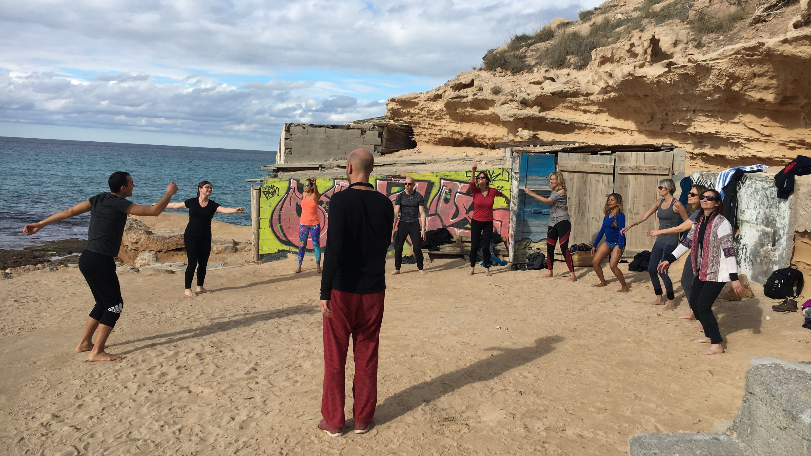 Image 3 of 12 - Experience Yoga to get an impression of WHM Travel Experience at Sant Llorenc de Balafia