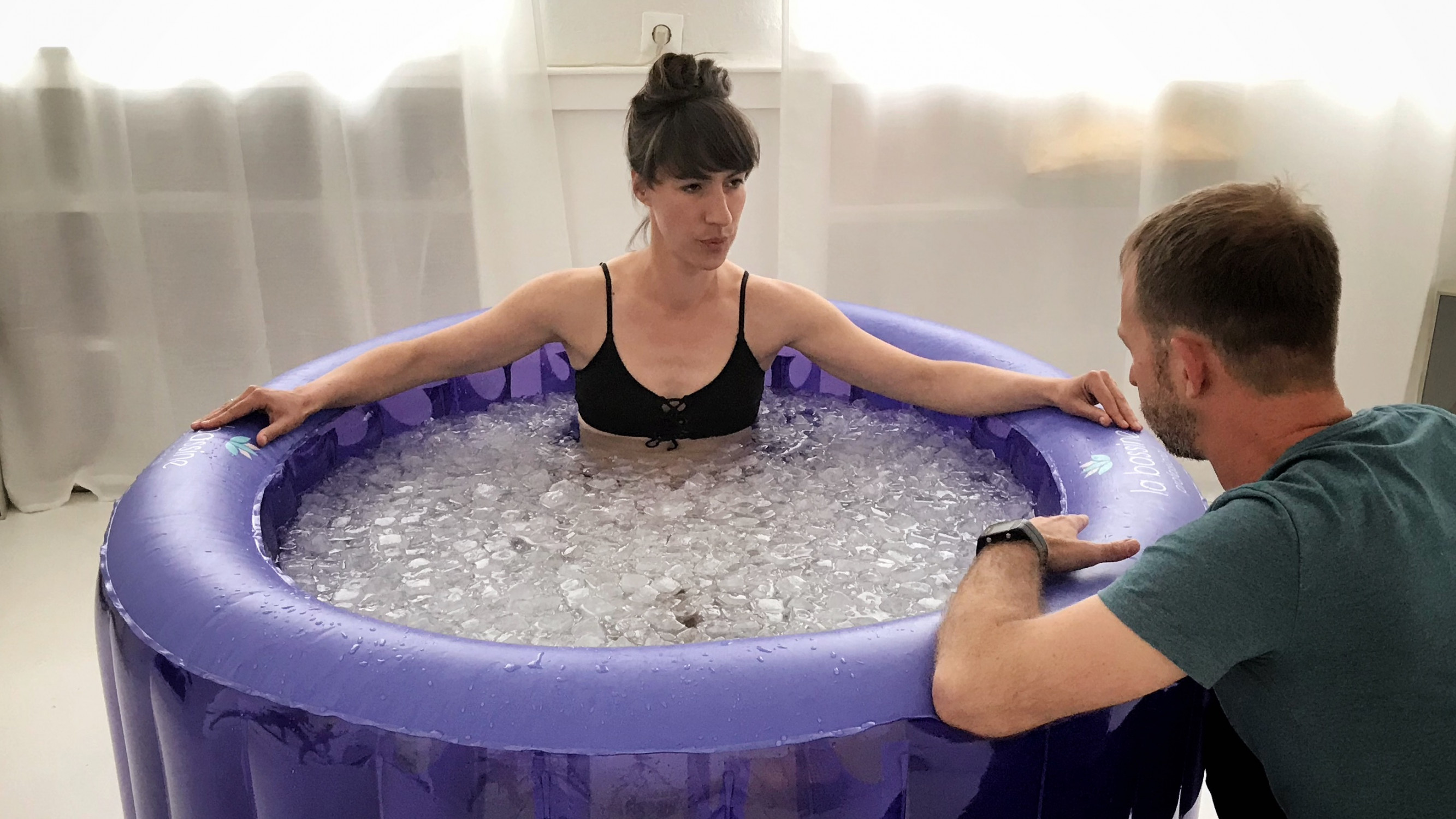 Image 6 of 8 - Experience Ice Bath to get an impression of WHM 5 Week Group Course - part II at Berlin