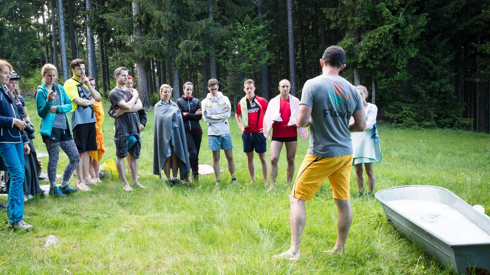 Image 3 of 4 - Experience Ice Bath to get an impression of WHM Fundamentals Workshop at Wiener Neustadt
