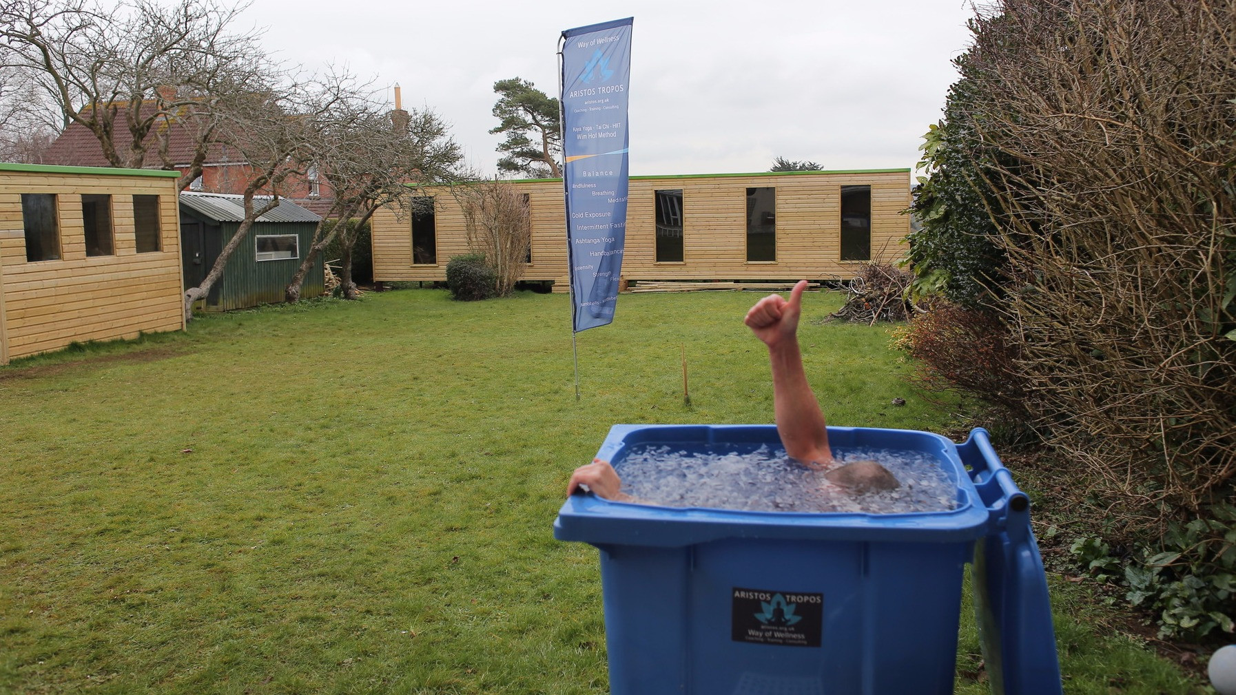 Image 1 of 1 - Experience Ice Bath to get an impression of WHM Advanced Workshop at Sherborne
