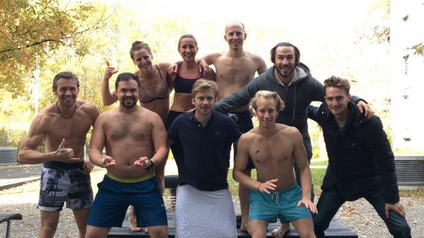 Image 1 of 5 - Experience Ice Bath to get an impression of WHM Fundamentals Workshop at Basel