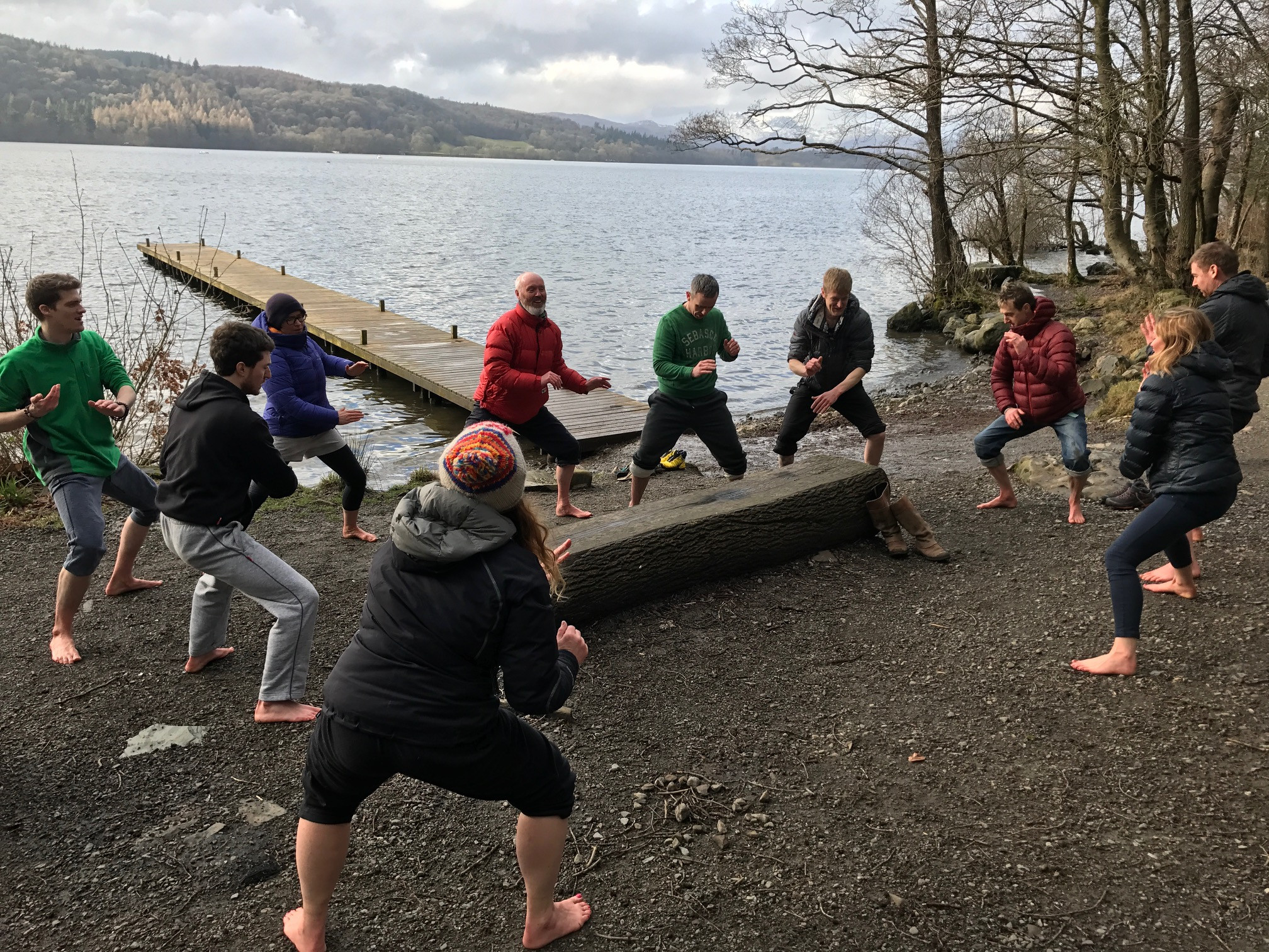 Image 9 of 10 - Experience WHM to get an impression of Wim Hof Method Workshop with Emma Estrela at The Lake District