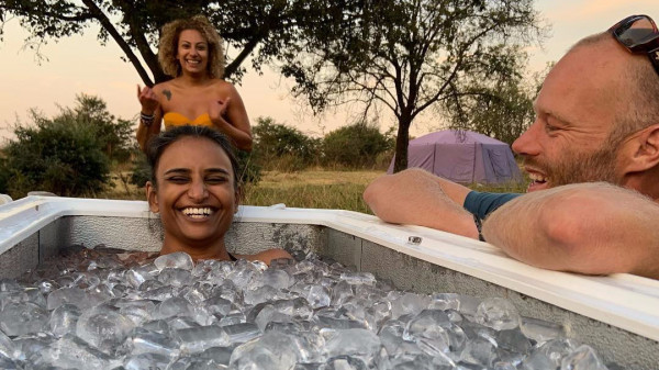 Image 4 of 6 - Experience Ice Bath to get an impression of WHM Fundamentals Workshop at Cape Town