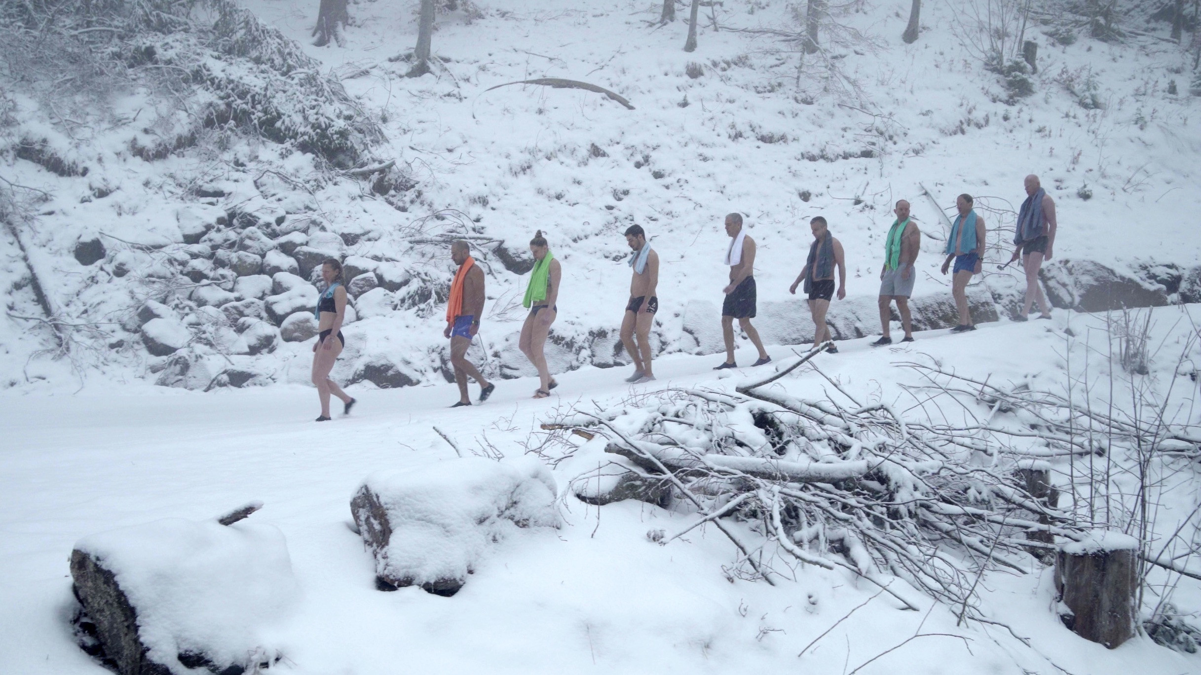Image 7 of 10 - Experience Ice Bath to get an impression of WHM Travel Experience at Brienz