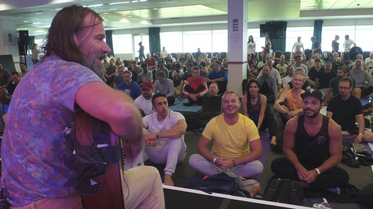 Image 6 of 8 - Experience Meditation to get an impression of Wim Hof VIP Experience — Los Angeles at Los Angeles