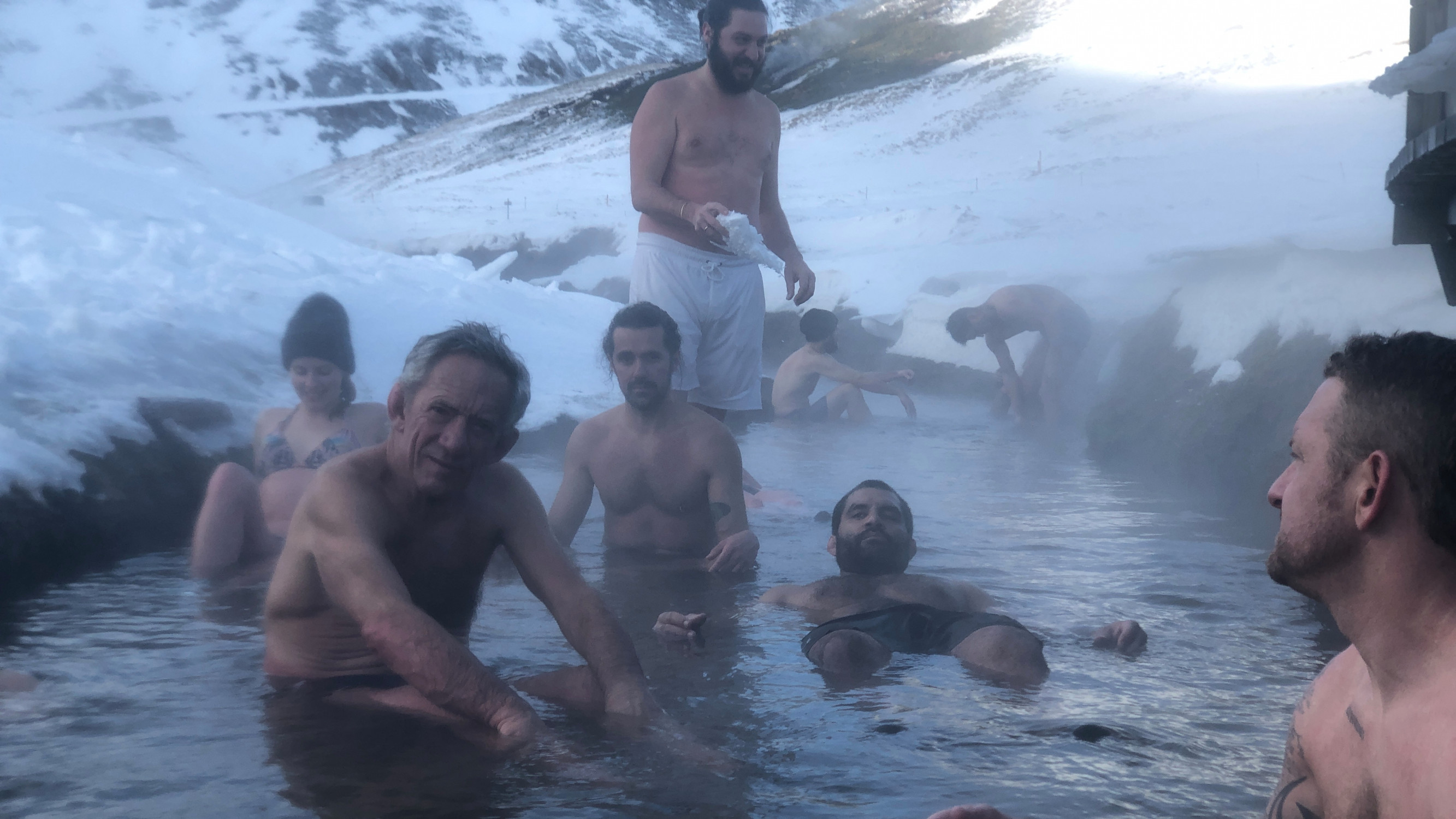 Image 18 of 20 - Experience Ice Bath to get an impression of WHM Travel Experience at reykjavik
