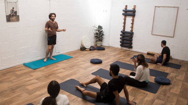 Image 5 of 9 - Experience Yoga to get an impression of WHM Fundamentals Workshop at Amikam