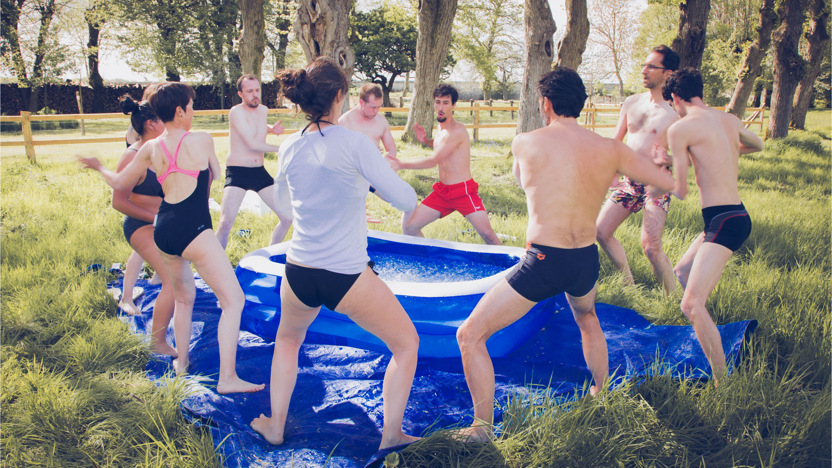 Image 2 of 9 - Experience Ice Bath to get an impression of WHM Fundamentals Workshop at Boissy-lès-Perche