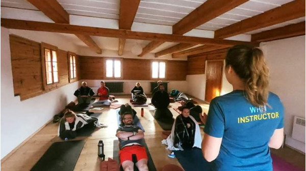 Image 1 of 5 - Experience Yoga to get an impression of WHM Travel Experience at Przesieka