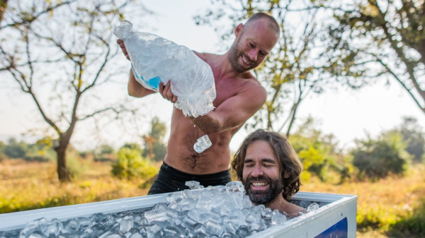 Image 3 of 6 - Experience Ice Bath to get an impression of WHM Fundamentals Workshop at Cape Town