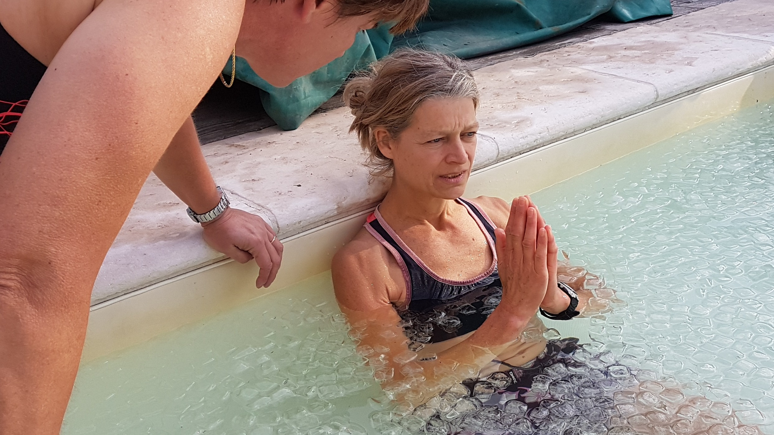 Image 2 of 5 - Experience Ice Bath to get an impression of WHM Fundamentals Workshop at Nieuwegein