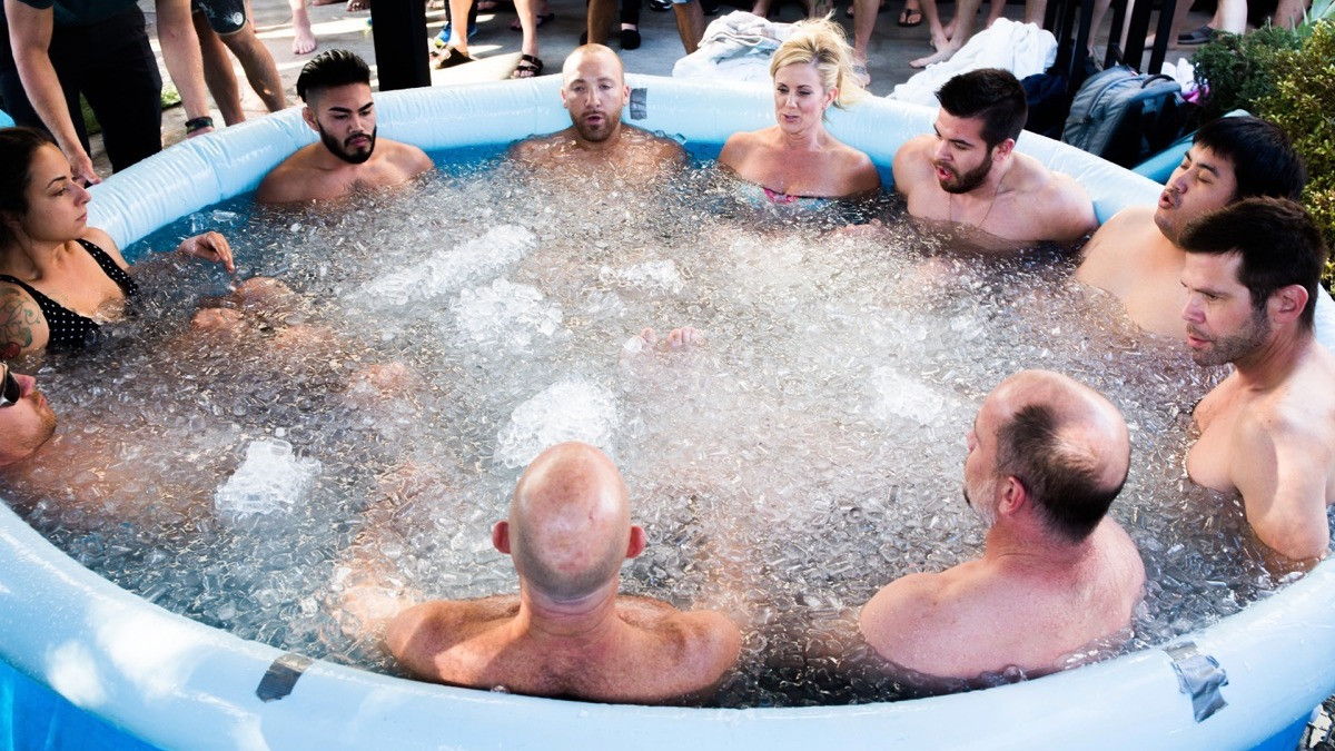 Image 4 of 5 - Experience Ice Bath to get an impression of Wim Hof Experience — Iceland at Reykjavík