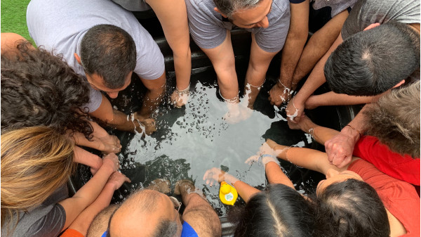 Image 4 of 5 - Experience Ice Bath to get an impression of WHM Fundamentals Workshop at Taos