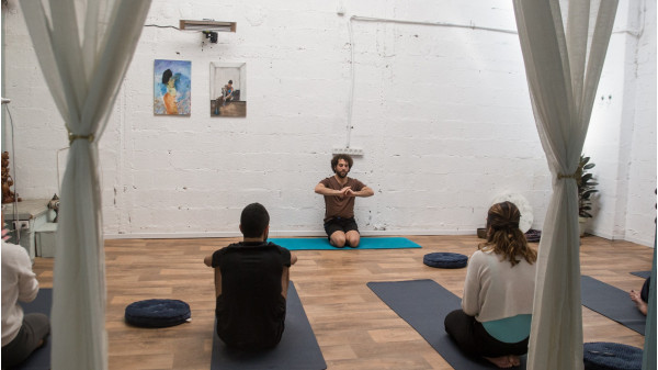 Image 8 of 9 - Experience Yoga to get an impression of WHM Fundamentals Workshop at Amikam