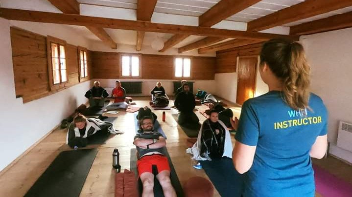 Image 1 of 6 - Experience Yoga to get an impression of WHM Travel Experience at Przesieka