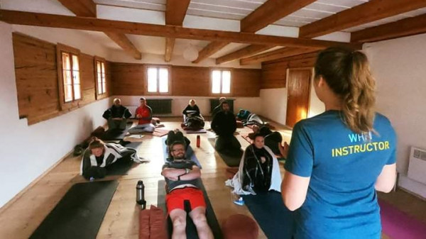 Image 4 of 9 - Experience Yoga to get an impression of WHM Travel Experience at Przesieka