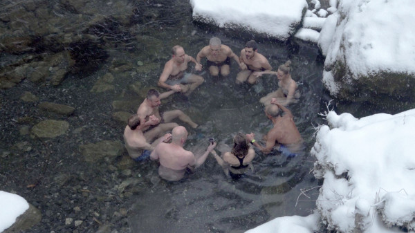 Image 5 of 7 - Experience Ice Bath to get an impression of WHM Weekend at Brienz
