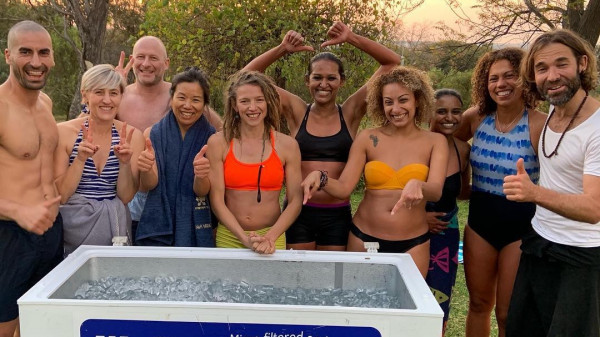 Image 2 of 6 - Experience Ice Bath to get an impression of WHM Fundamentals Workshop at Cape Town