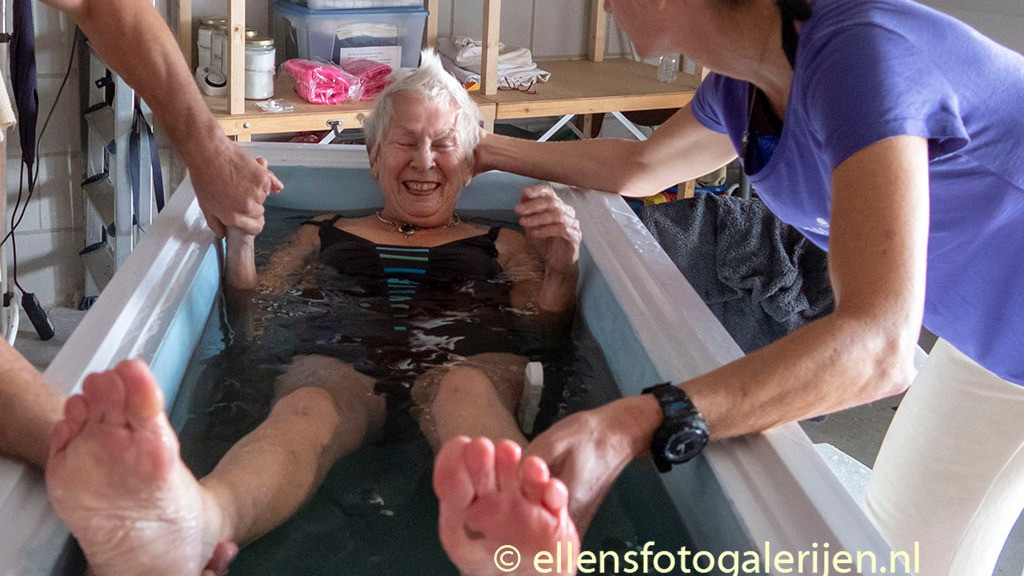 Image 1 of 5 - Experience Ice Bath to get an impression of WHM Fundamentals Workshop at Nieuwegein