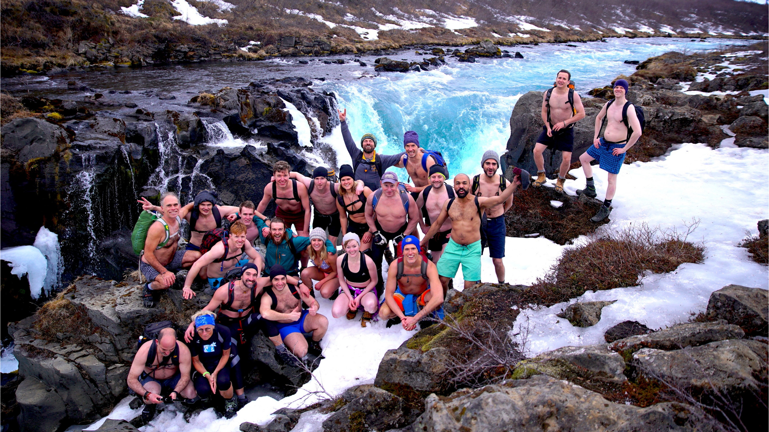 Image 4 of 6 - Experience Ice Bath to get an impression of WHM Travel Experience at Reykjavík