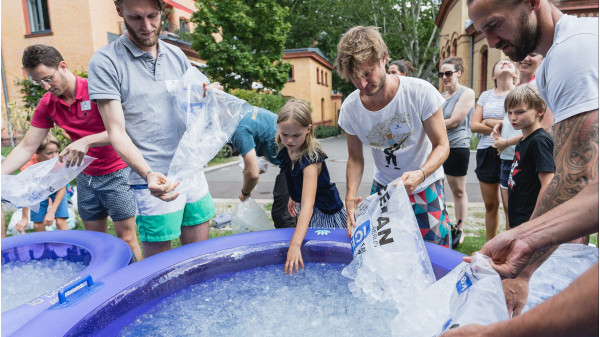 Image 4 of 7 - Experience Ice Bath to get an impression of WHM Advanced Workshop at Hinwil