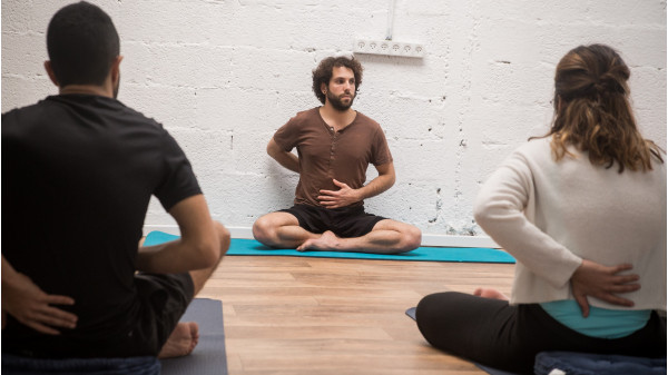 Image 4 of 9 - Experience Yoga to get an impression of WHM Fundamentals Workshop at Amikam