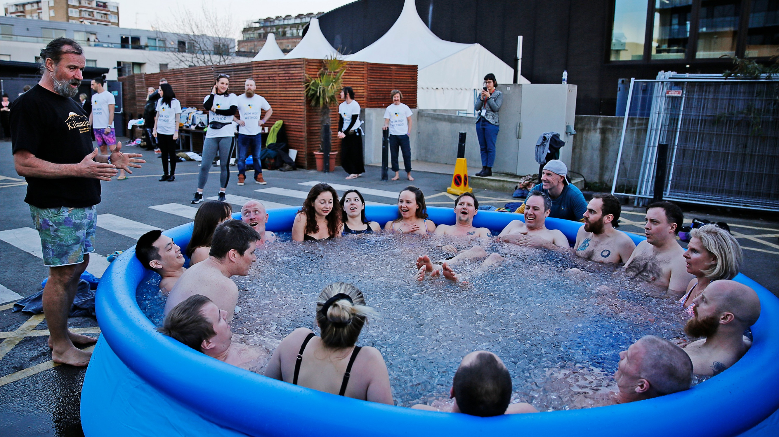 Image 5 of 9 - Experience Theory to get an impression of Wim Hof Experience — San Jose at San Jose