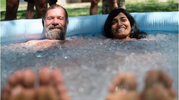 Image 3 of 5 - Experience Ice Bath to get an impression of WHM Fundamentals Workshop at Taos
